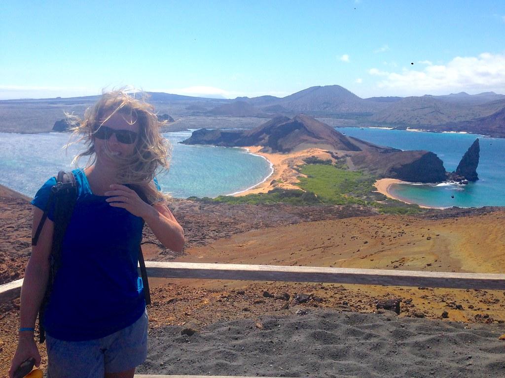 Bartolome pinnacle rock, Galapagos