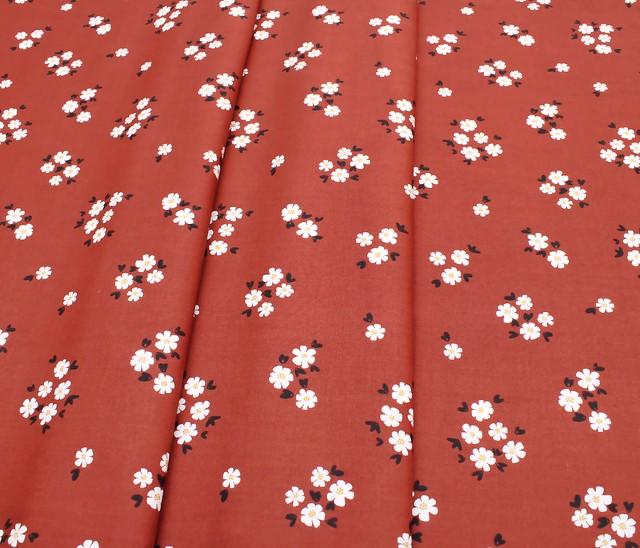 Cloud9 Fabrics Fanciful 208501 Pocket Full of Posies Brick