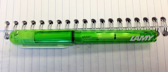 Lamy Balloon Lime Cartridge Pen 5