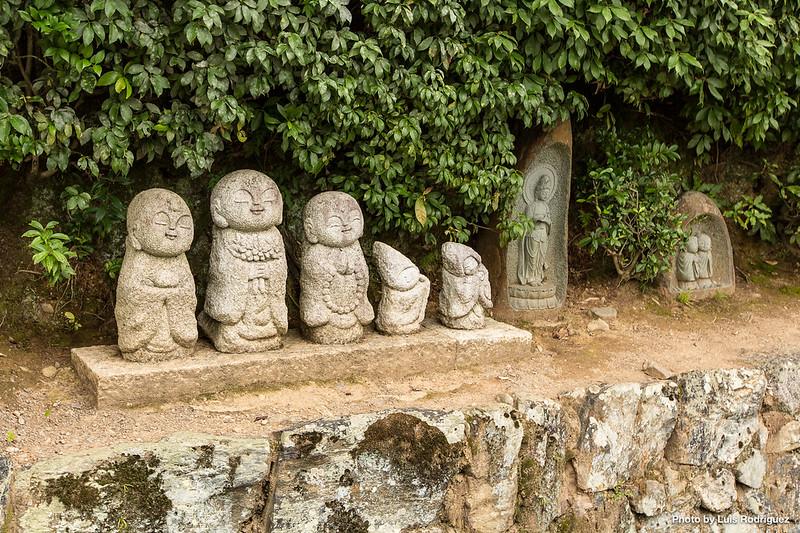 Detalles en el templo Tenryuji de Arashiyama