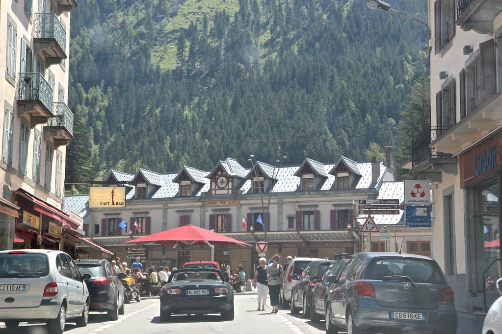 Mont Blanc ja Chamonix