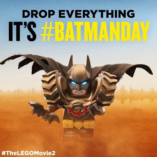 The LEGO Movie 2 The Second Part  - Wasteland Batman