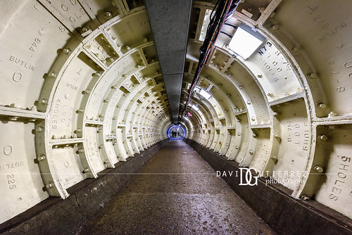 Greenwich Foot Tunnel (II), London, UK