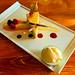 Artistic cheesecake