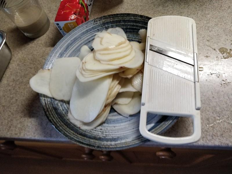 ポテトチップスの作り方 (1)