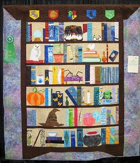 Hogwart's bookcase