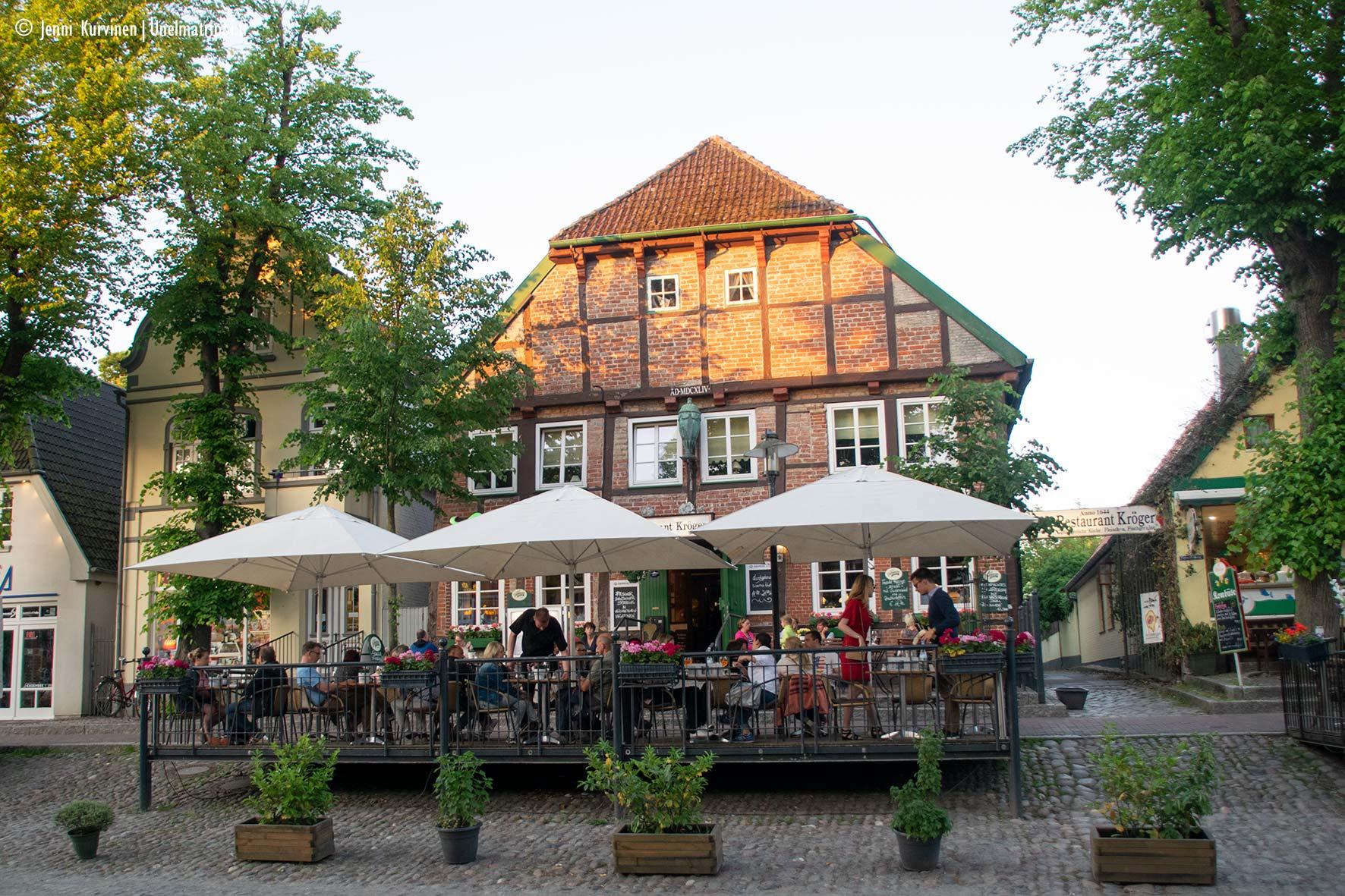 Fehmarnin katukuvaa, Saksa