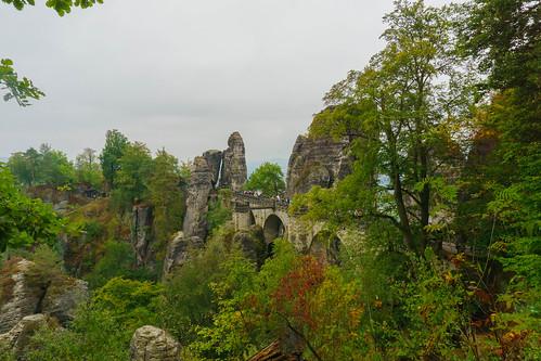 Basteibrücke Sächsische Schweiz 2