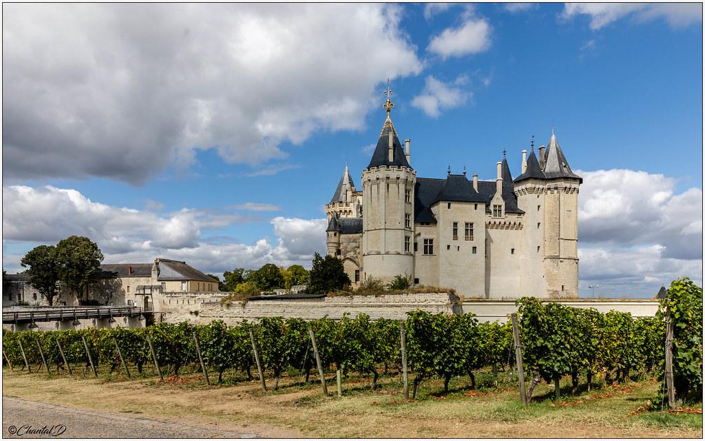 Saumur Map - Pays de la Loire, France - Mapcarta