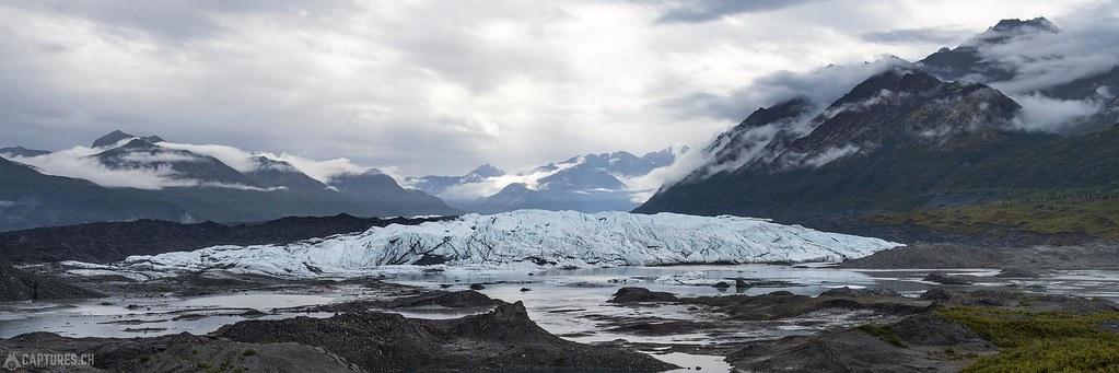The matanuska glacier - Alaska