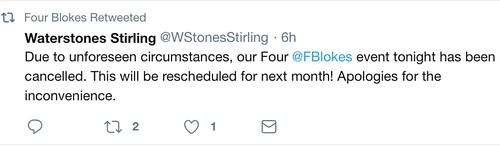 Waterstones non-event