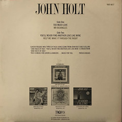 JOHN HOLT:TOO MUCH LOVE(JACKET B)