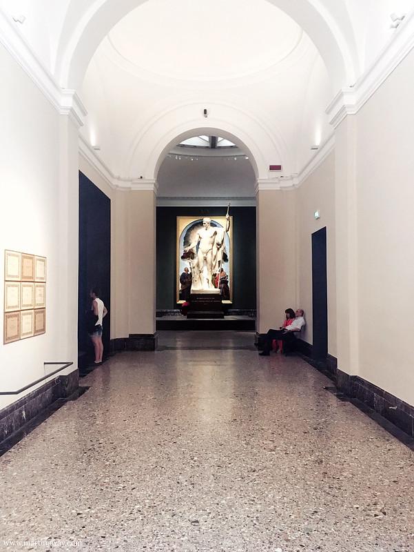 Pinacoteca di Brera e Napoleone come Marte pacificatore di Canova