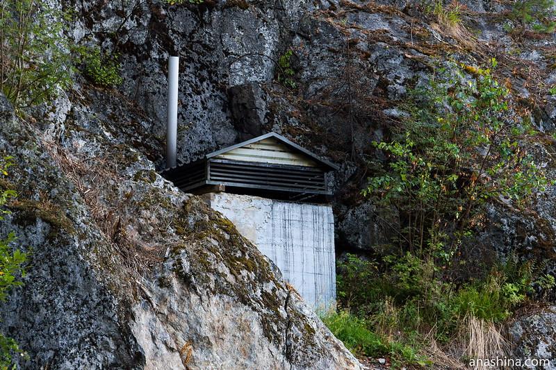 Вентиляционное сооружение, Гора Филина, Хуухканмяки