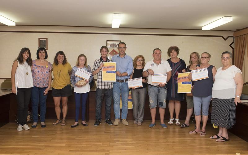 Premis del 1r Concurs de Guarniment de Terrasses Comunitàries
