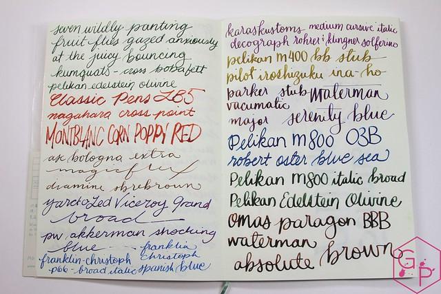 Midori MD 10th Anniversary Notebook @PhidonPens 11