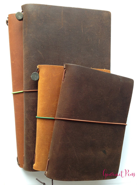 Midori Traveler's Notebook Leather Journal Covers 12