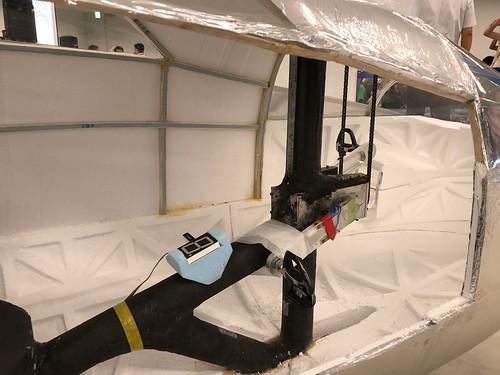 名古屋大学 人力飛行機 制作サークル AirCraft Zephyranthes コックピット〜動力伝達部 IMG_0991
