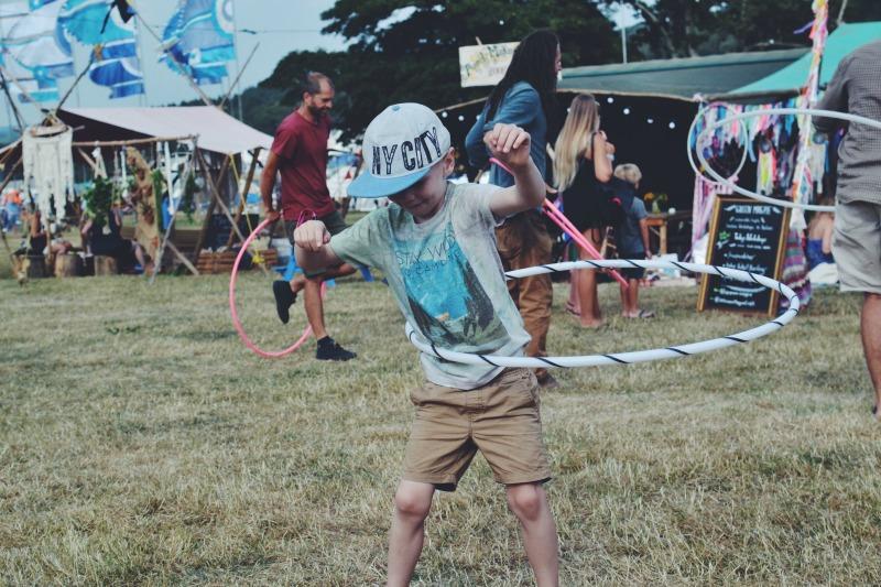 Hula Hoop Camp Bestival