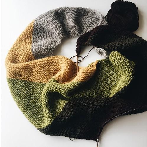 Vintervarmt sjal