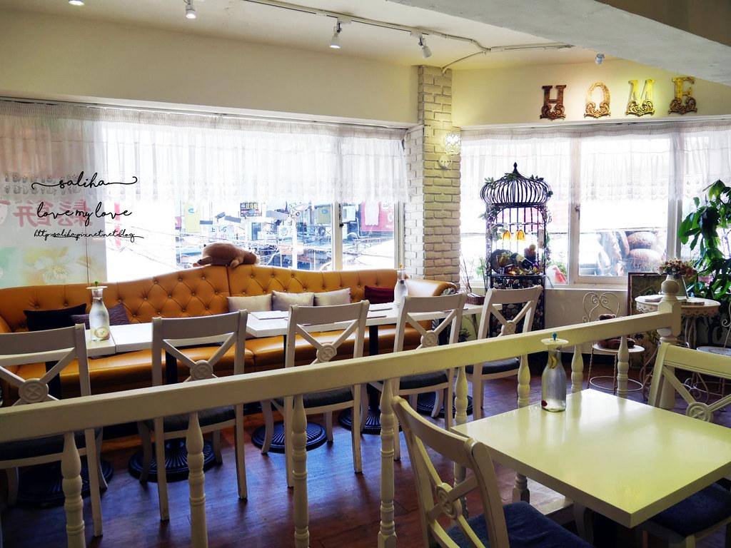 台北西門站夢幻公主風咖啡館餐廳推薦oyami cafe (4)