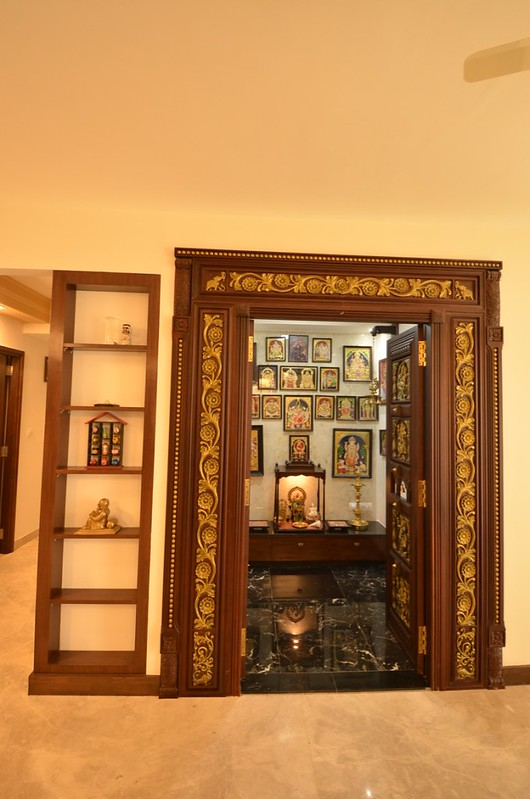 Puja Room Design: Sai & Anusha's Apartment Is Inspired By Chettinad Houses