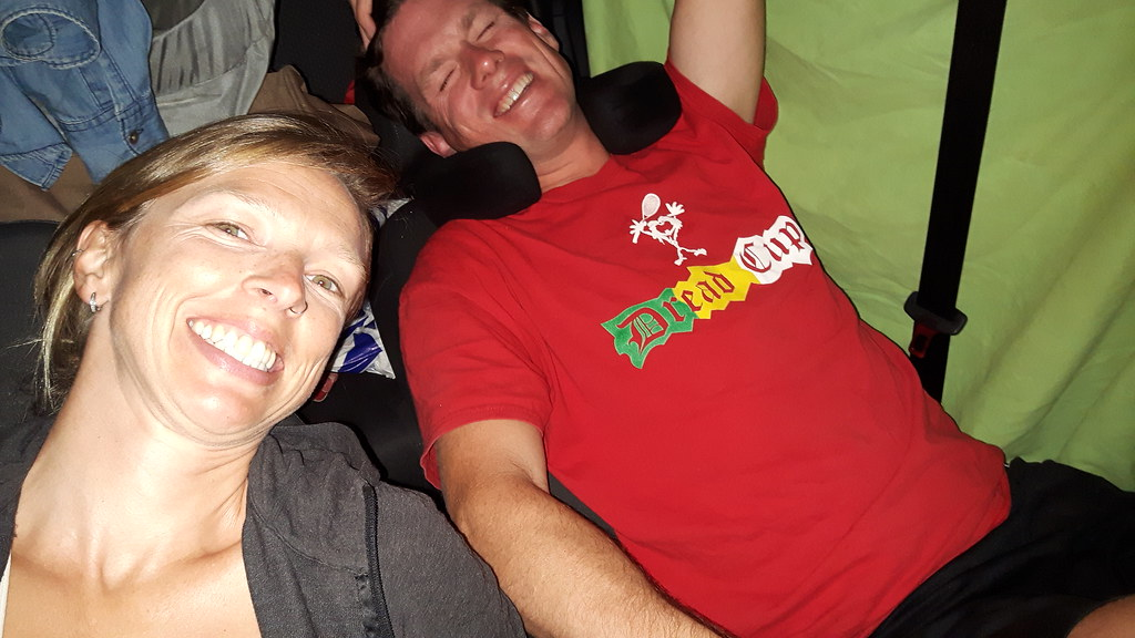 sleeping in car, Spain