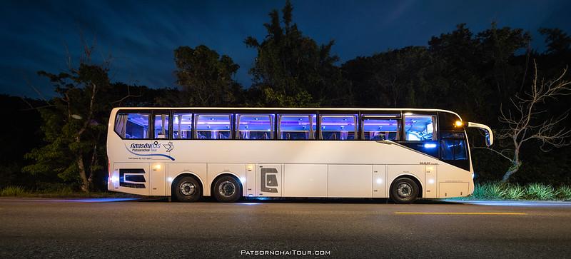 รถบัสเช่า The New Galaxy Patsornchai