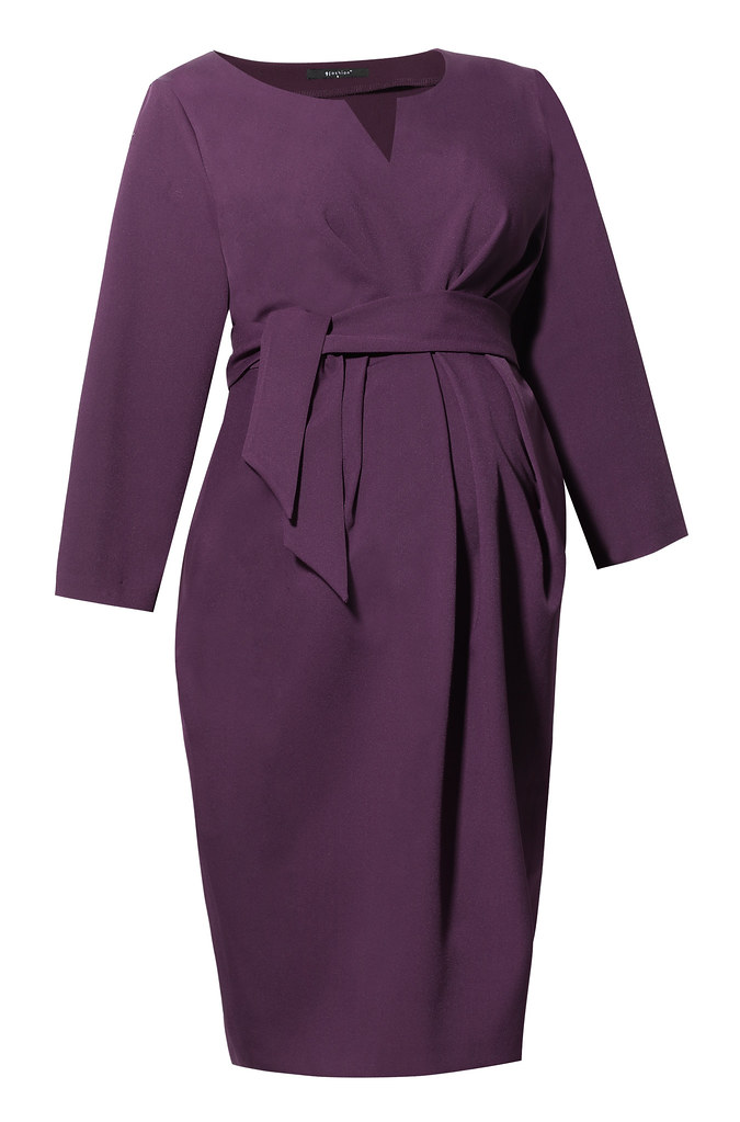 Dress DAVEA II plum