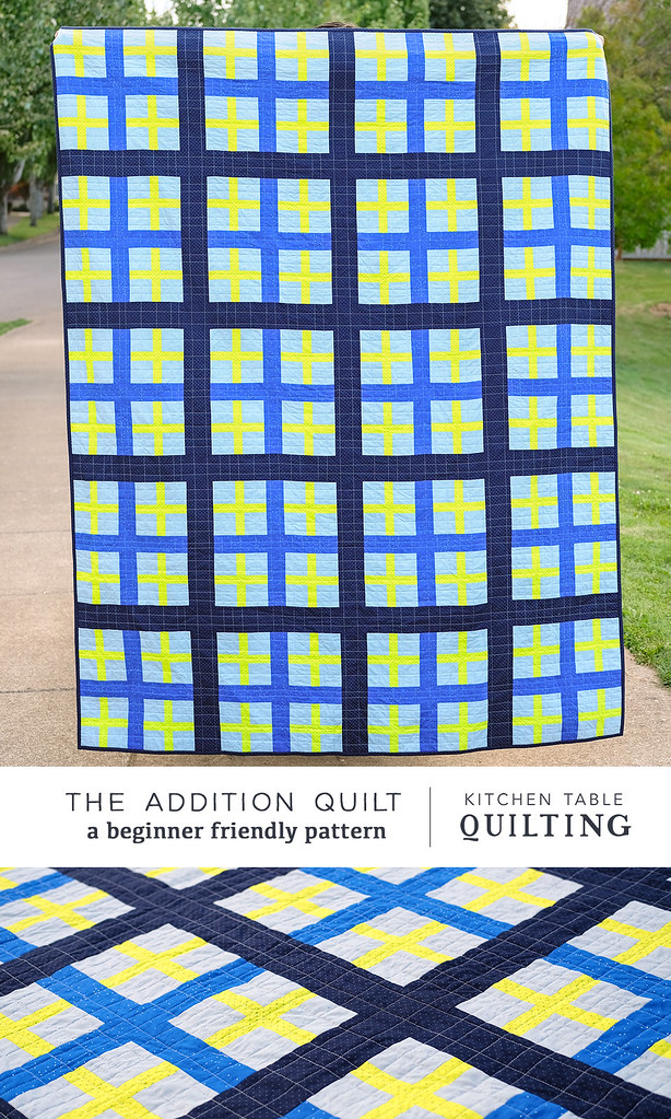 Addition Quilt Pattern - Kitchen Table Quilt