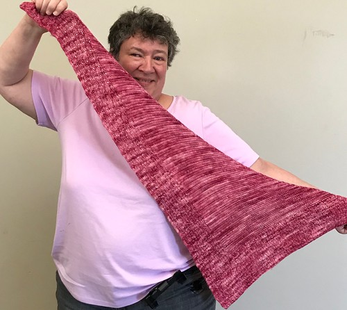 Sandi's Vacation Time shawl by Susan Ashcroft
