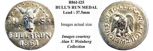 B861-125 Bulls Run Medal