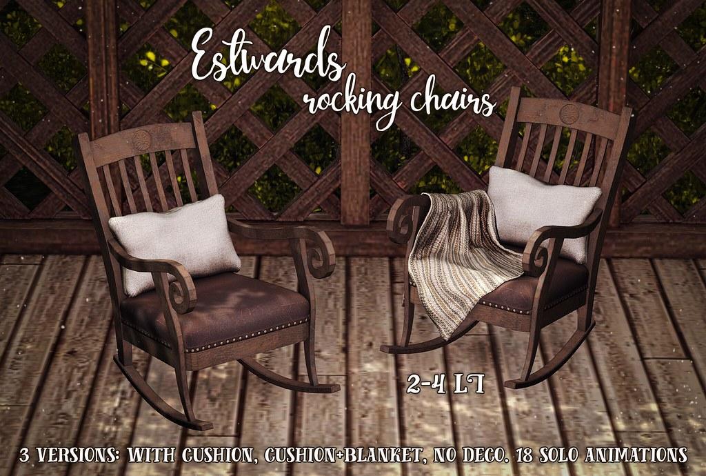 Estwards rocking chairs @TLC - TeleportHub.com Live!