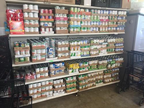Food pantry at SCCAP