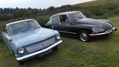 Vauxhall Velox PB (1964) & Citroën DS23 Pallas (1972)