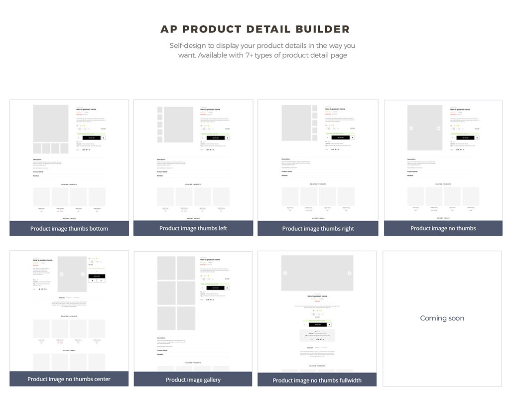 pagebuilder module-product list builder