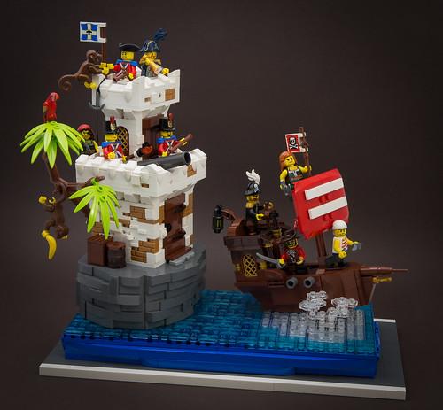Pirates Carnival Float