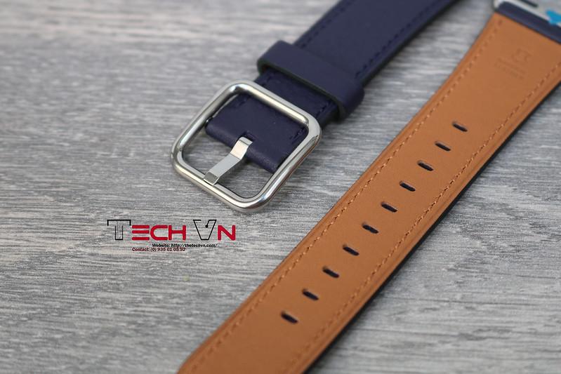 Techvn - Dây đeo apple watch Classic Buckle Indigo swift 01