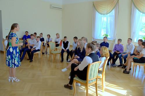 Занятие «Поэтическая мастерская» проводит экскурсовод Максимова Светлана
