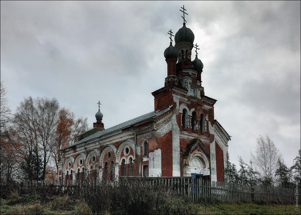 Победа, Беларусь, Церковь Успенская