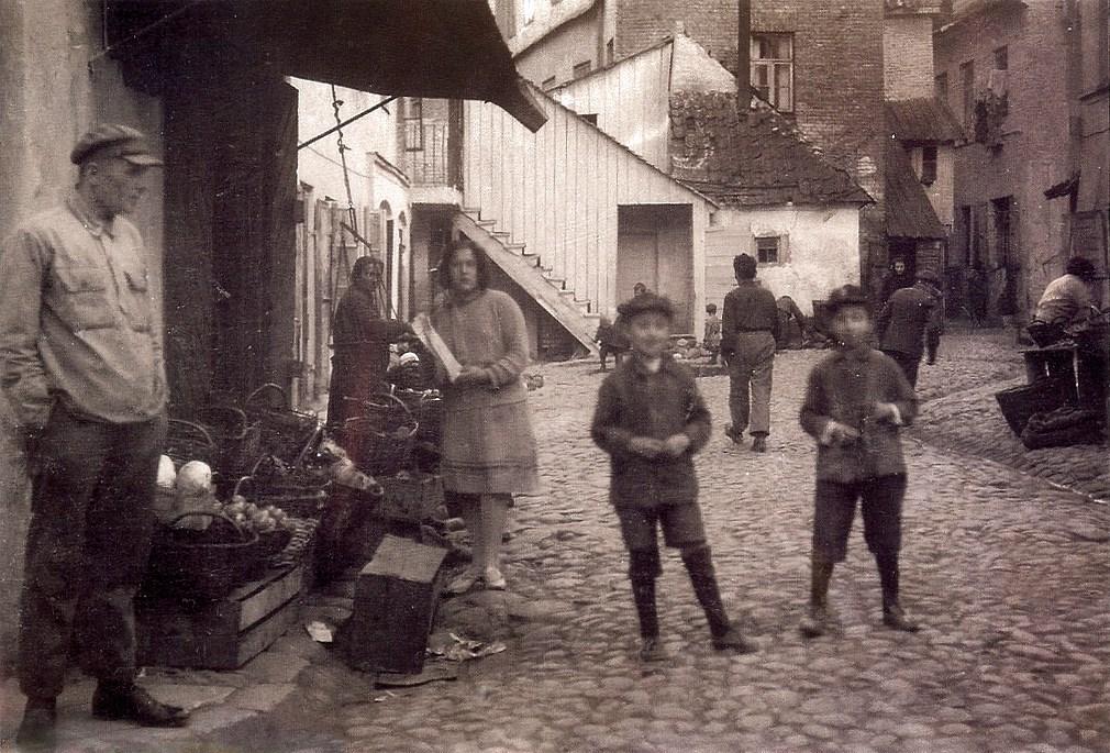 1935-1938. В Еврейском квартале