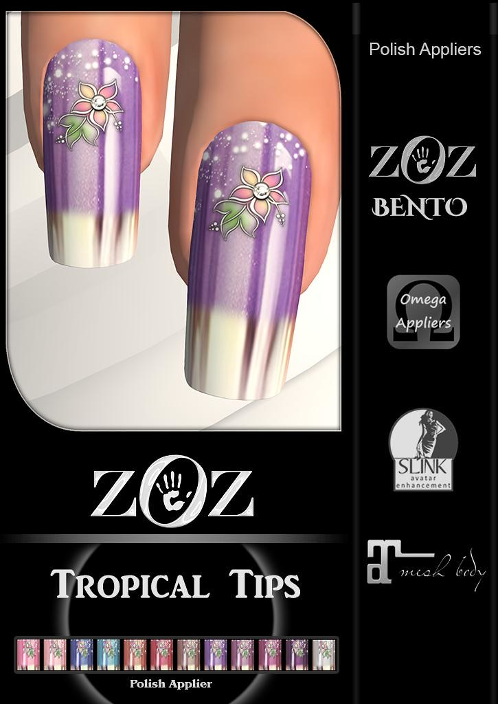 {ZOZ} Tropical Tips pix L