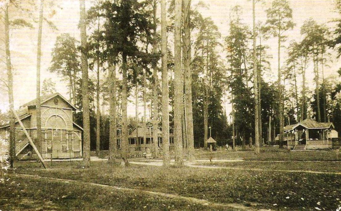 Уголок сада-парка заводского пожарного общества
