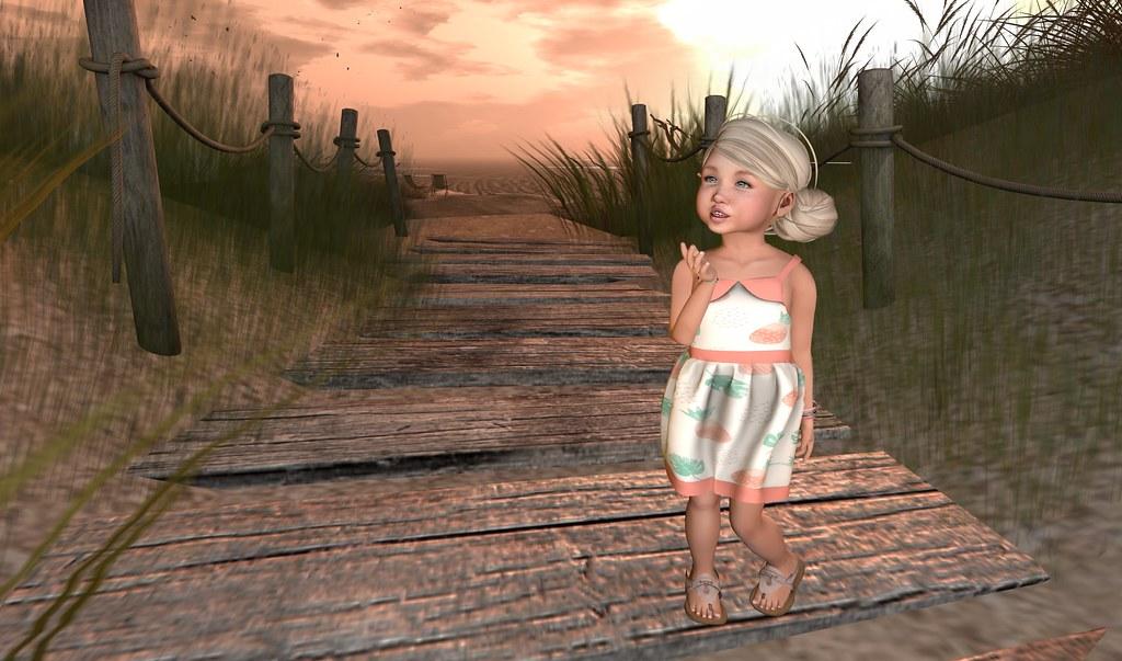 Stasha at the Beach
