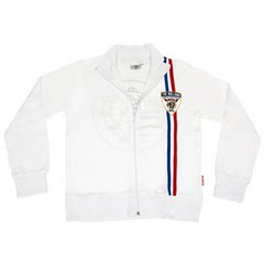 The Bulldog Amsterdam - Ladies' Track Jacket - White