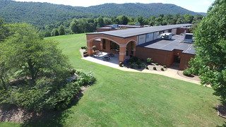 PVCC Main Building - North Entrance_aerial