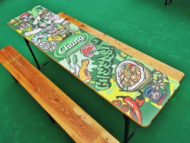 GalactikCaptain Doodle Bench