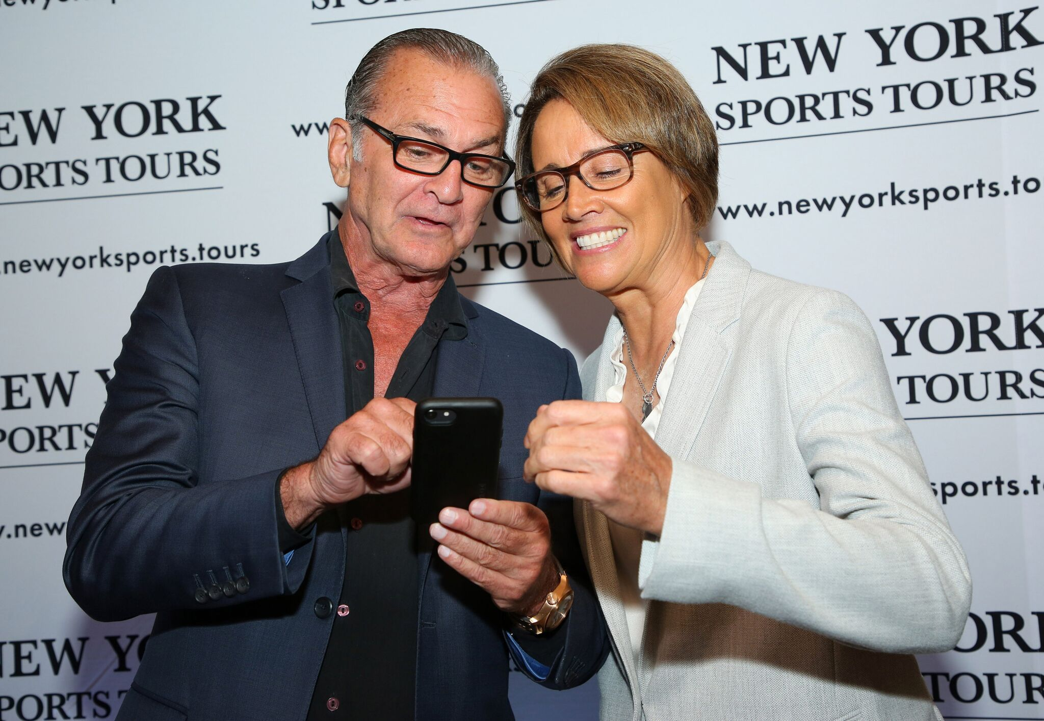 Shep Messing, Mary Carillo
