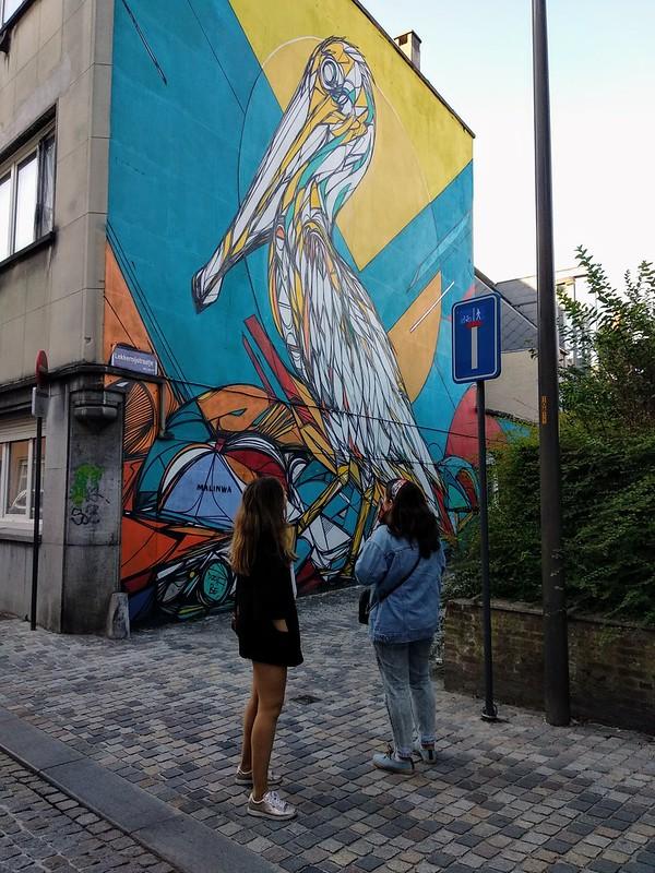 Dzia  - 43568944274 b120ed900d c - Mechelen Muurt: arte urbano en Malinas.