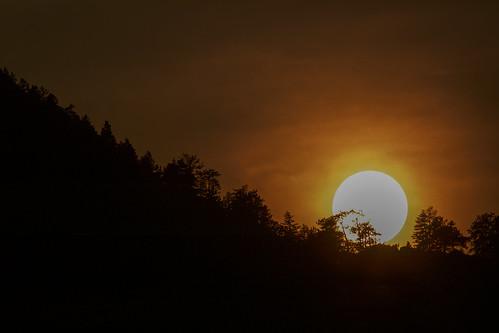 sun sunset smoke flagstaffmountain boulder colorado